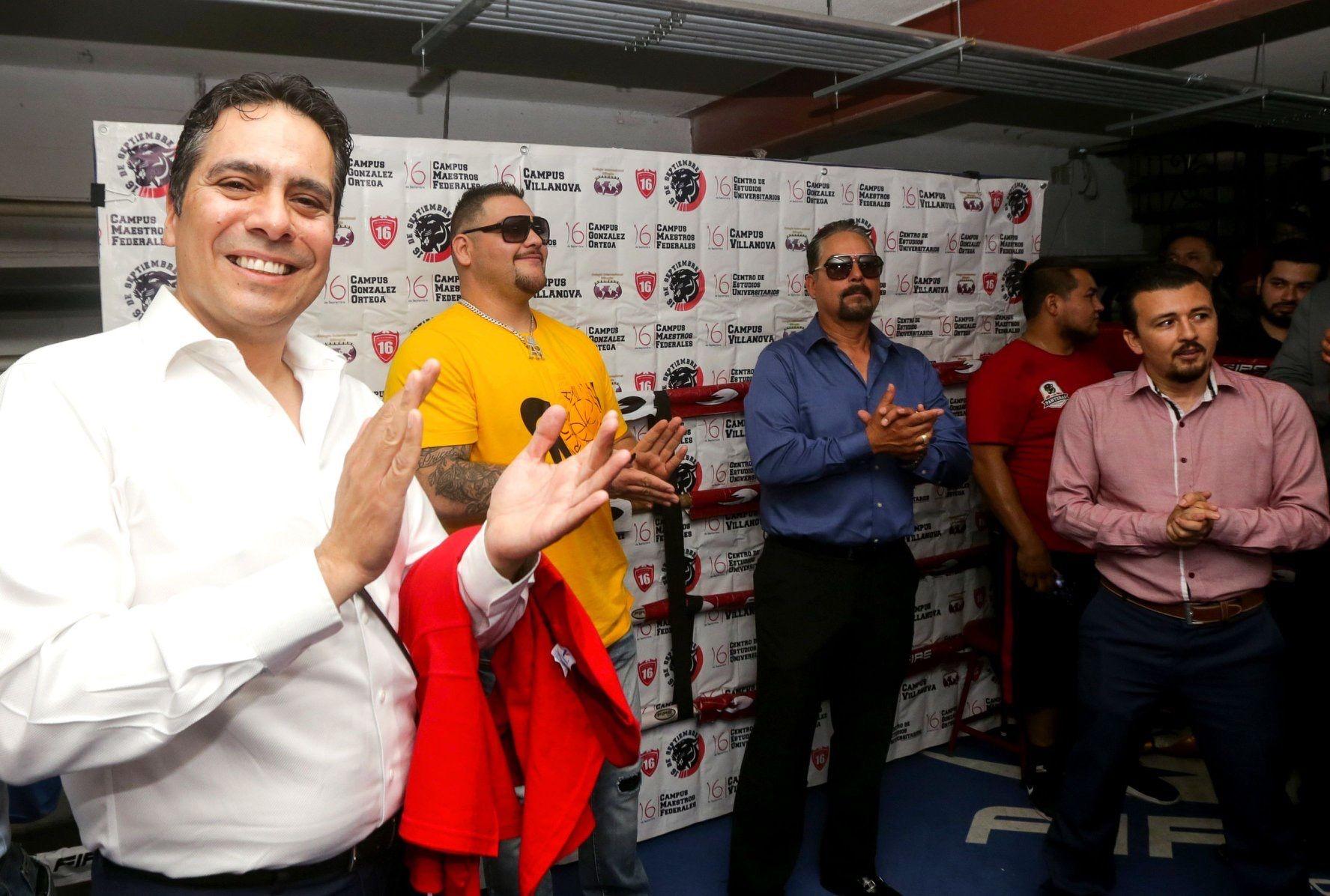 Visita del campeón mundial, Andy Ruiz, a nuestra escuela