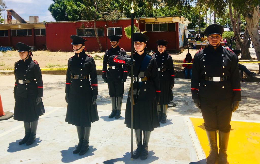 Destaca nuestra escolta en  concurso Copa del puerto en Ensenada