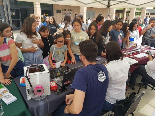 Grupo Educativo 16 de Septiembre presente en la 2da Feria Binacional Universitaria