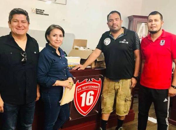 SE FIRMA ALIANZA CON EL TRADICIONAL TORNEO DE FUTBOL DE LOS BARRIOS